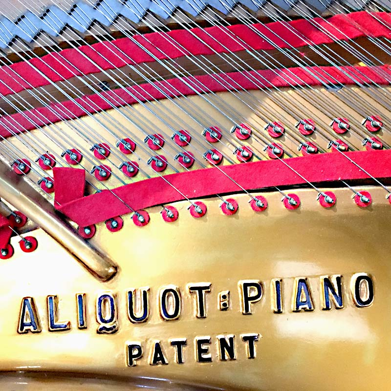 Blüthner patent aliquot piano