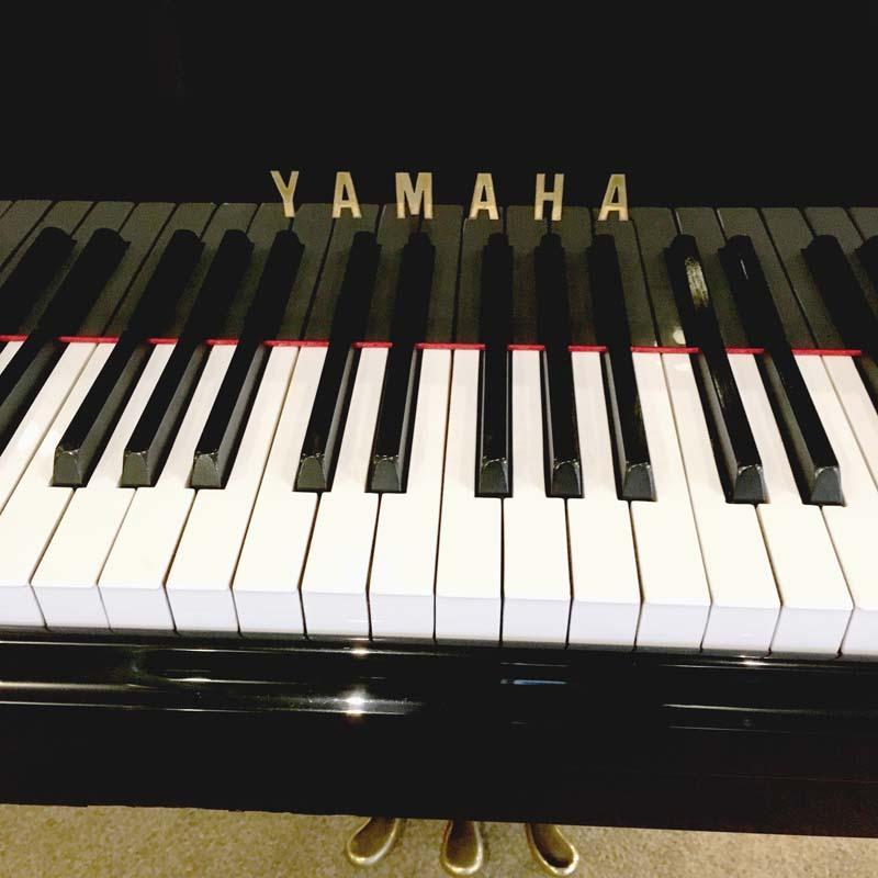 Yamaha C3A merk en toetsen