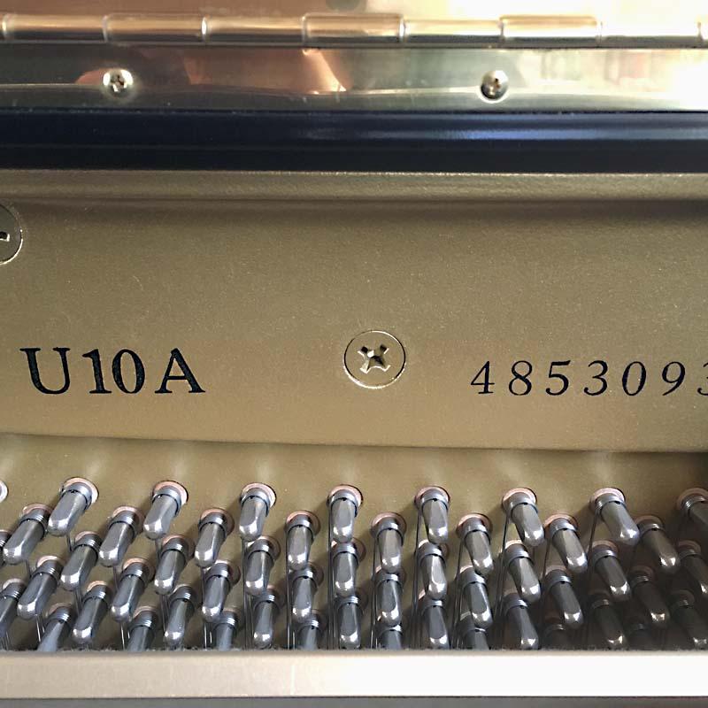 Yamaha U10A serienummer