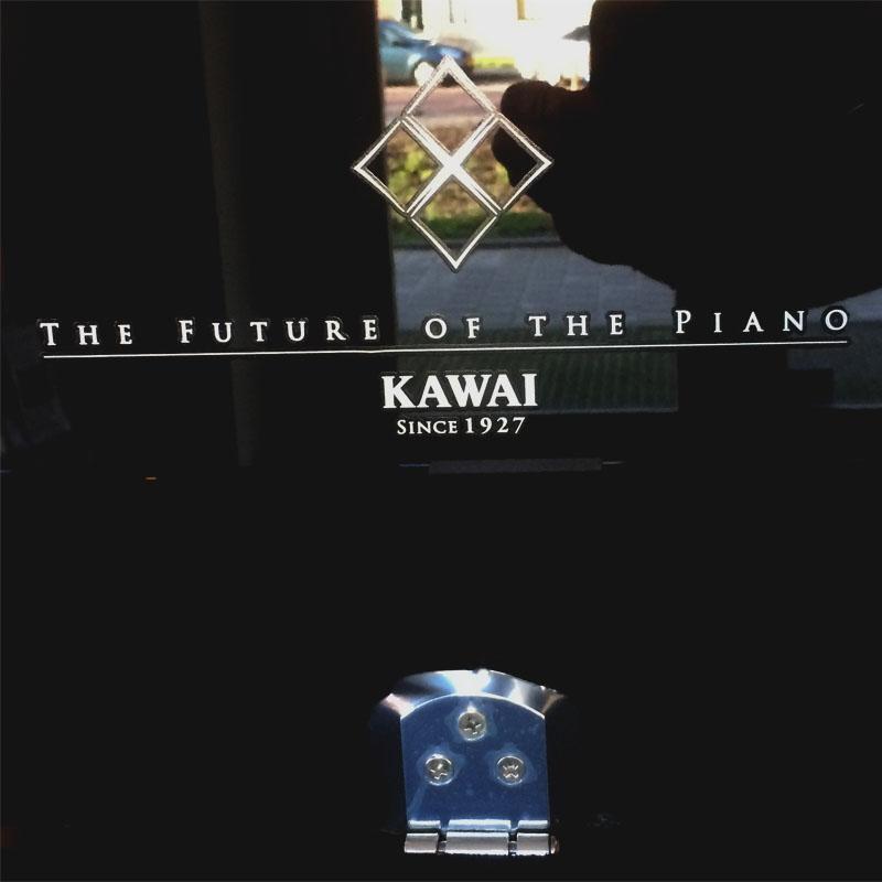 Kawai K300 chroom slogan