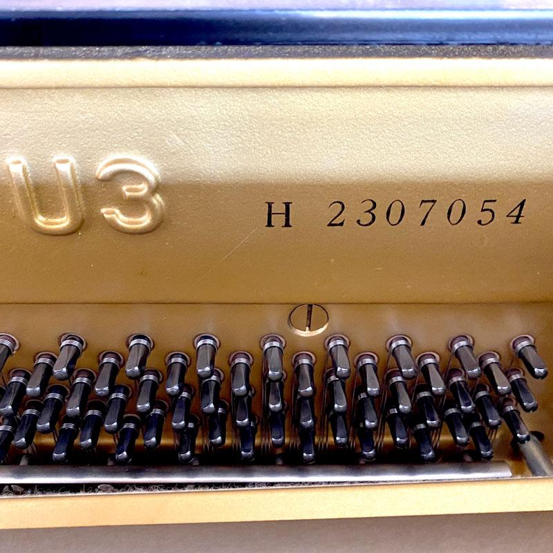 yamaha u3h serienummer en stempennen